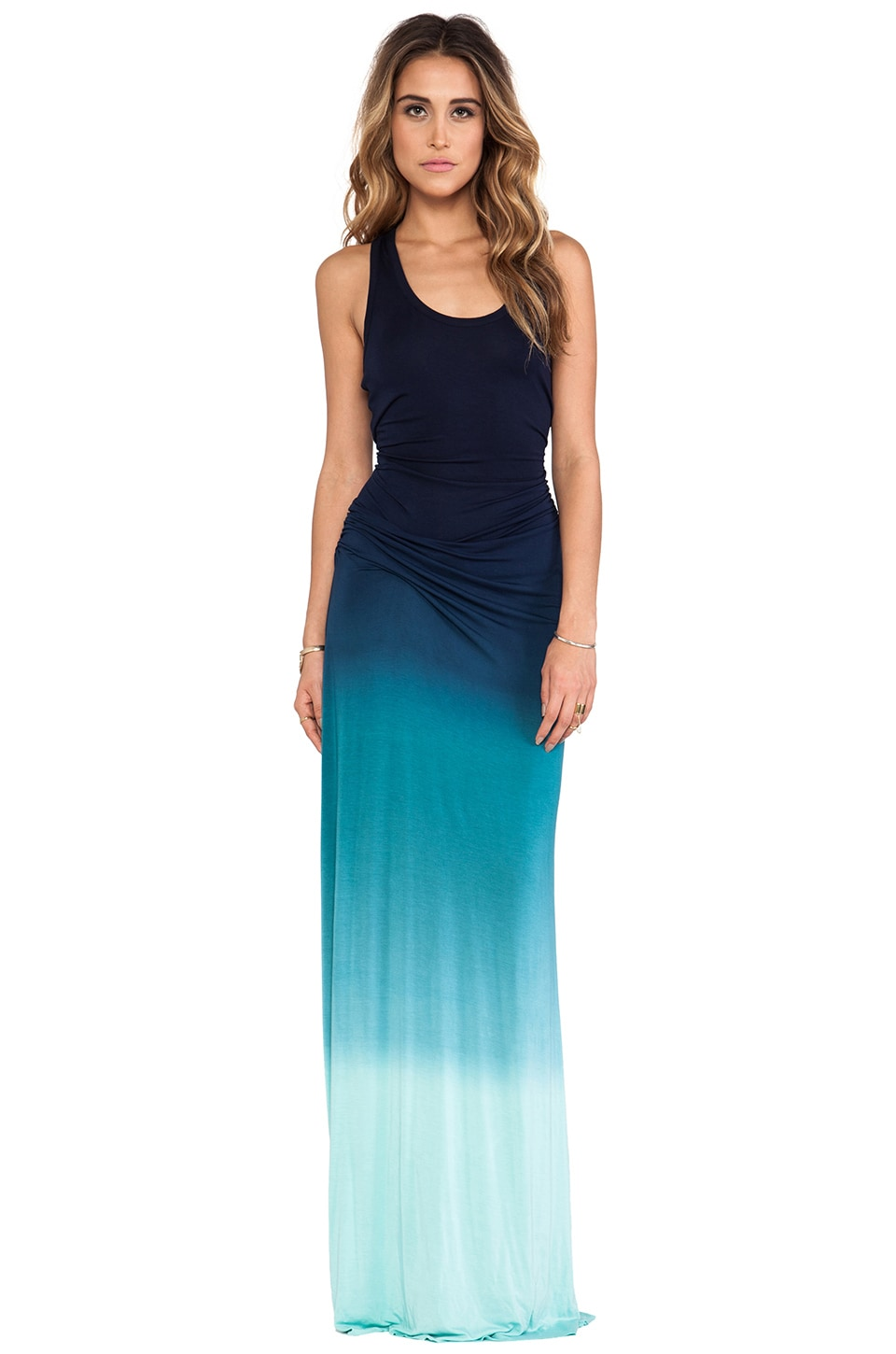 Young, Fabulous & Broke Hamptons Maxi in Navy Ombre