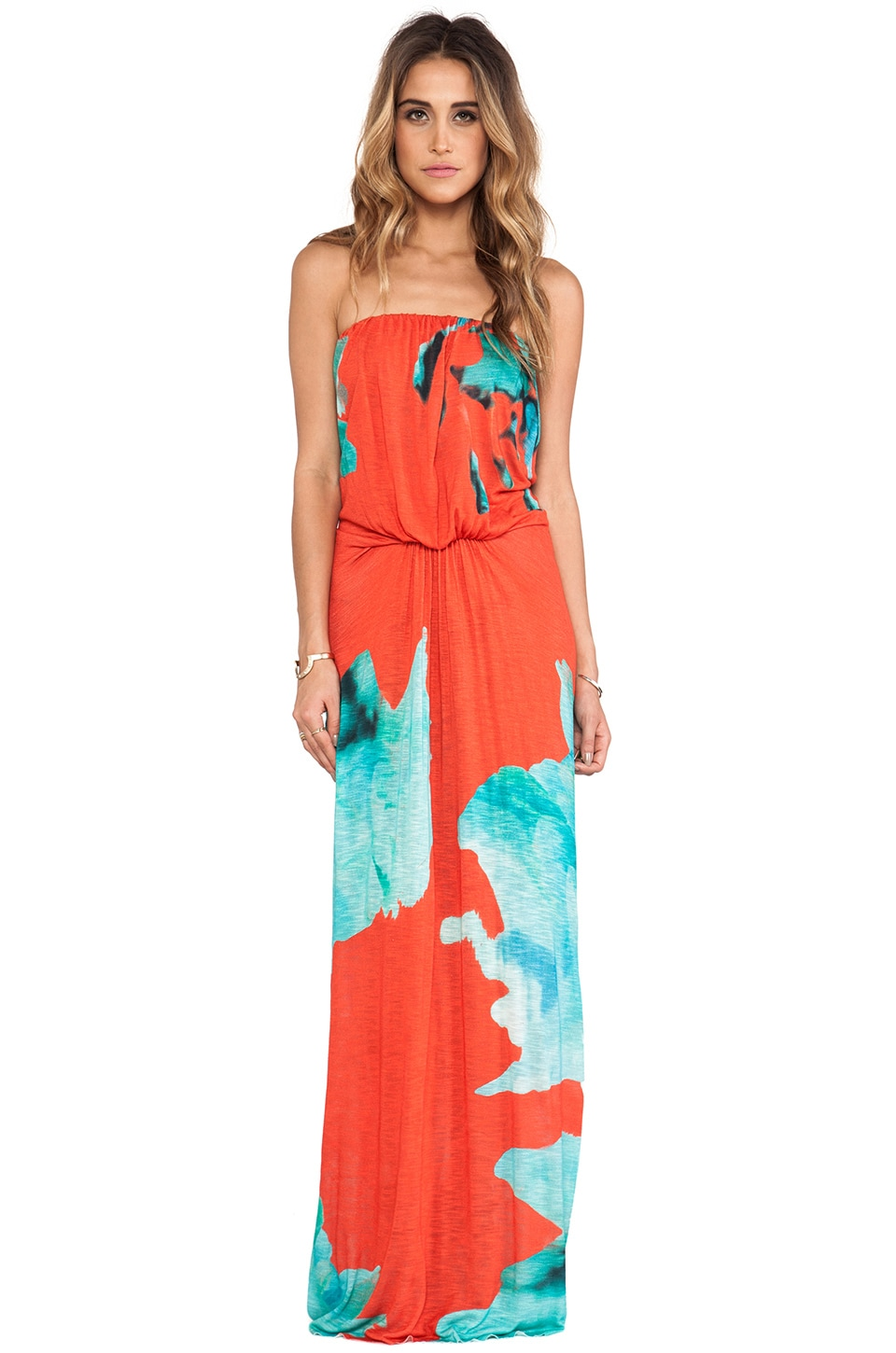 Young, Fabulous & Broke Gautier Maxi in Blue Flower