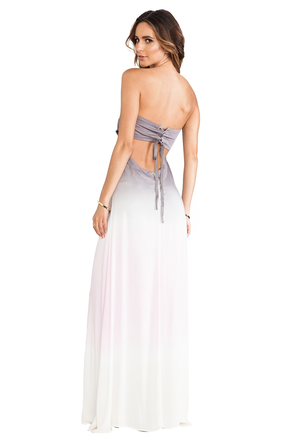 Young, Fabulous & Broke Miche Maxi Ombre in Blush