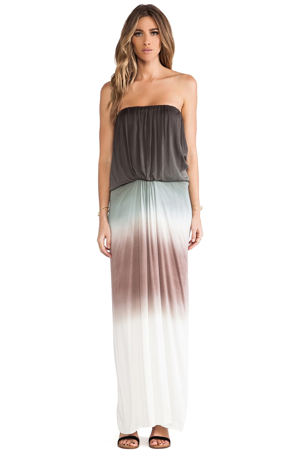 Young, Fabulous & Broke Gautier Maxi in Olive Ombre
