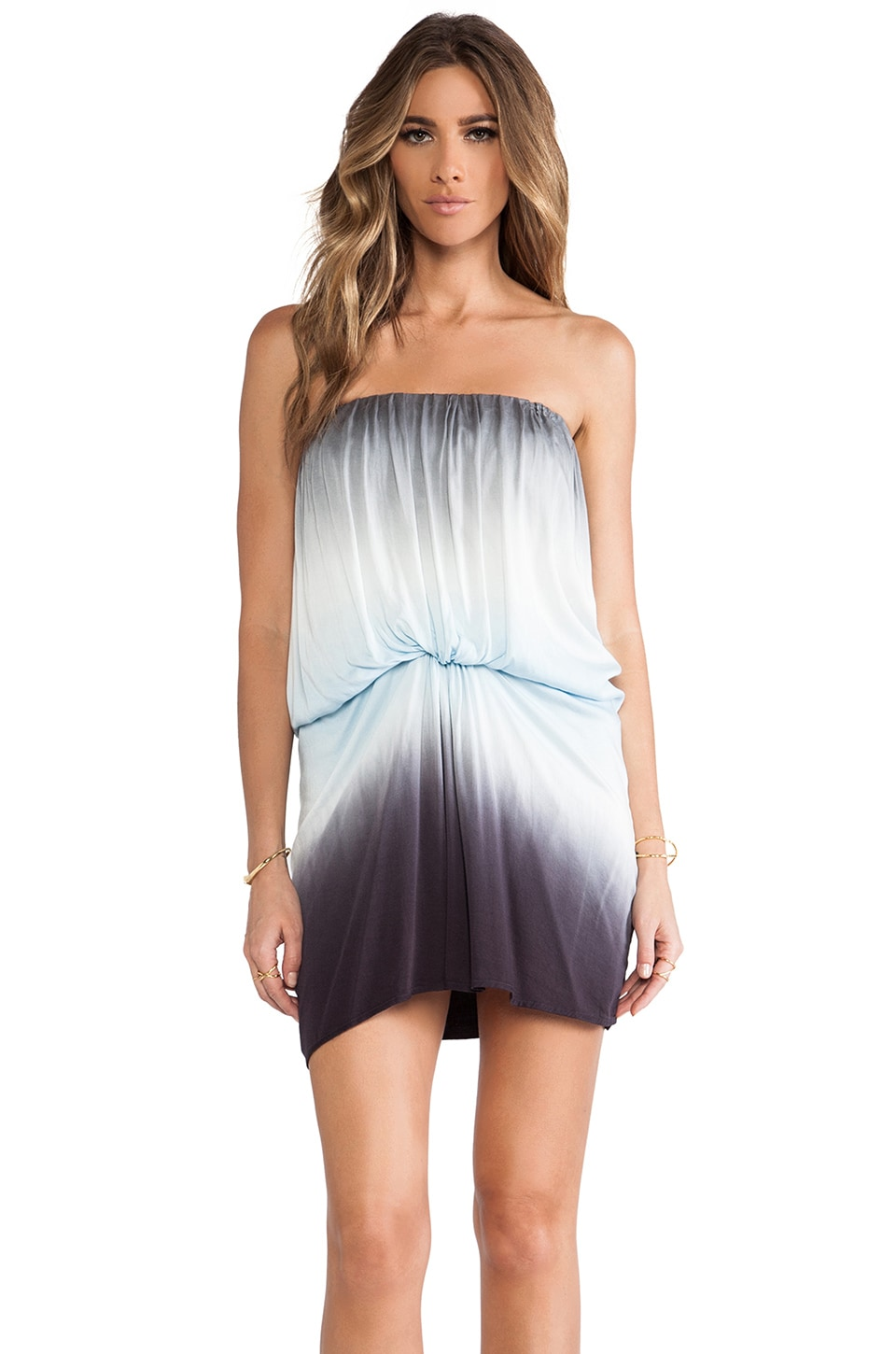 Young, Fabulous & Broke Gautier Mini Dress in Ice Omber