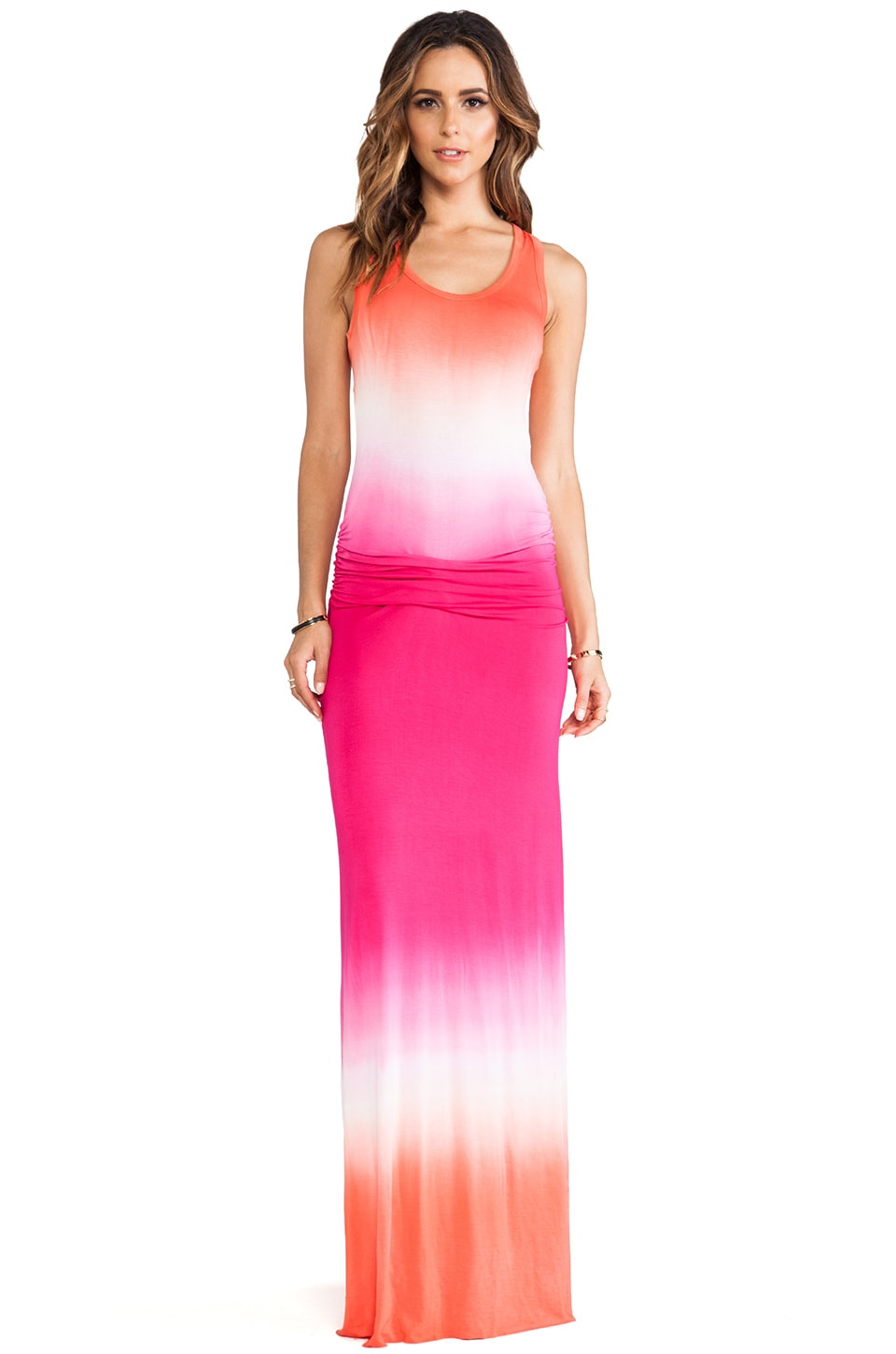 Young, Fabulous & Broke Hamptons Maxi in Berry Ombre