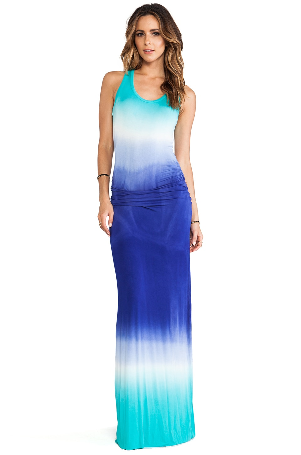 Young, Fabulous & Broke Hamptons Maxi in Blue Ombre