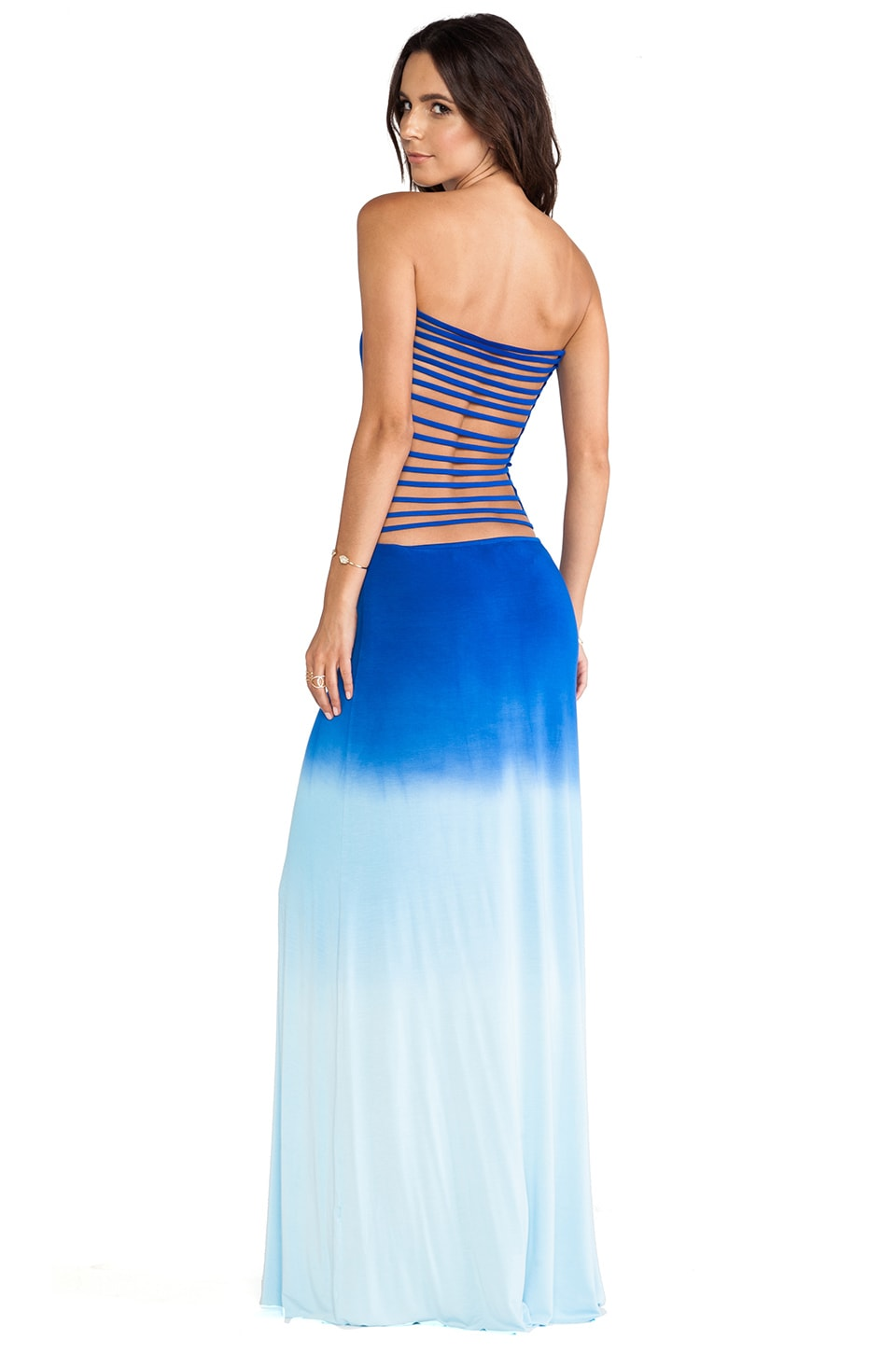 Young, Fabulous & Broke Tara Maxi Dress in Royal Ombre