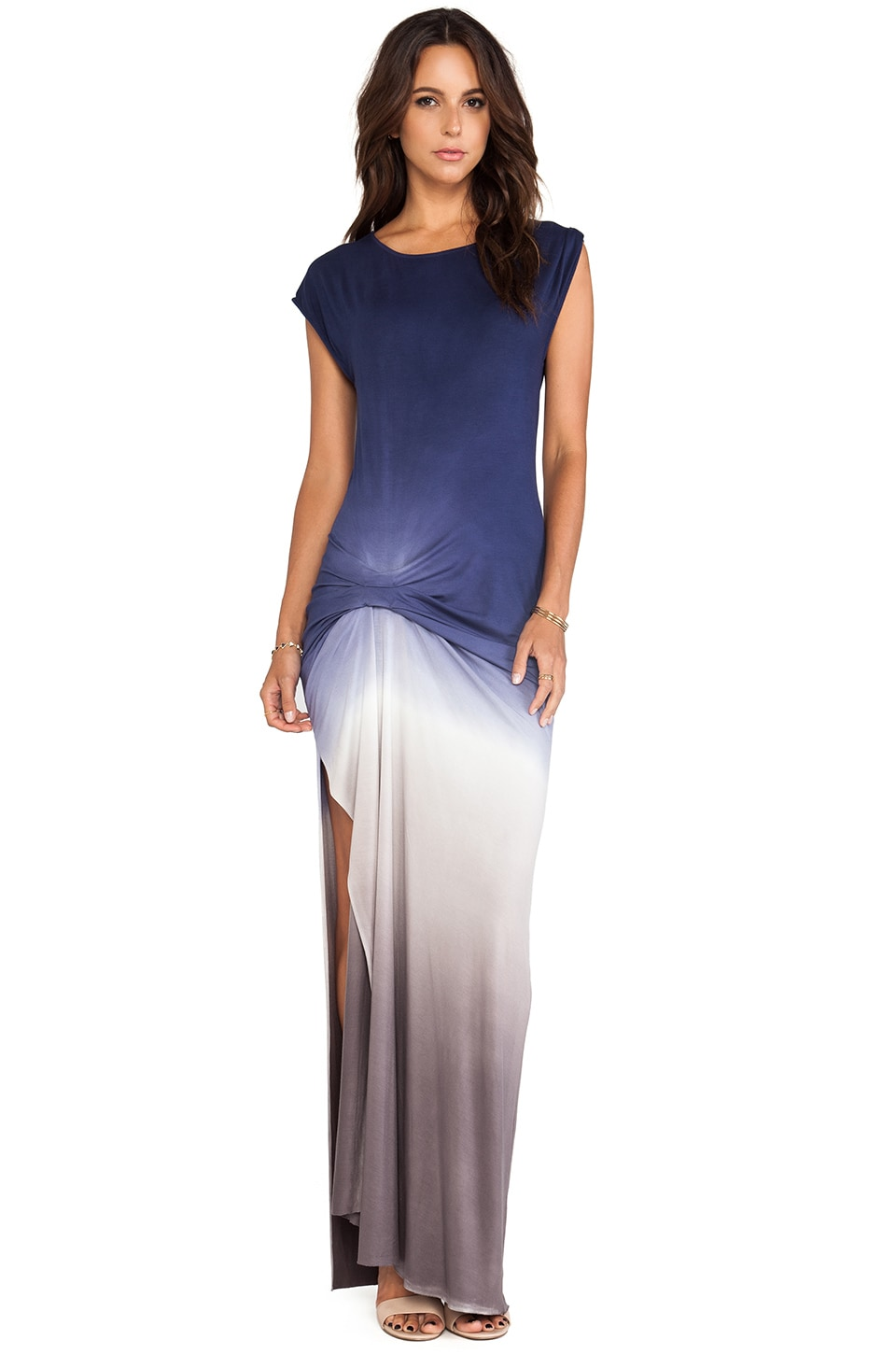 Young, Fabulous & Broke Bryton Maxi in Portabello Navy Ombre
