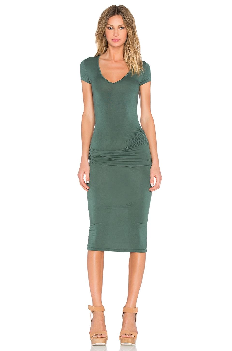 Young, Fabulous & Broke Araya Dress in Olive