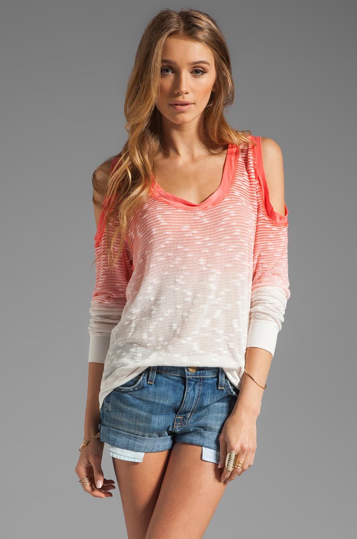 Young, Fabulous & Broke Rafaela Sweater in Orange Hombre