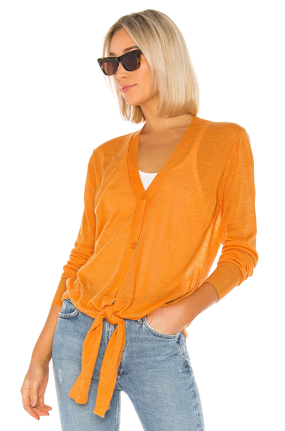 Young, Fabulous & Broke Ivy Sweater in Mango