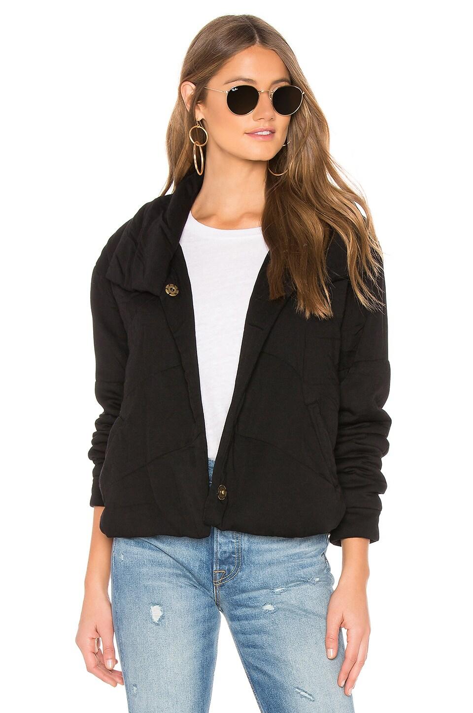 Young, Fabulous & Broke Flurry Jacket in Black