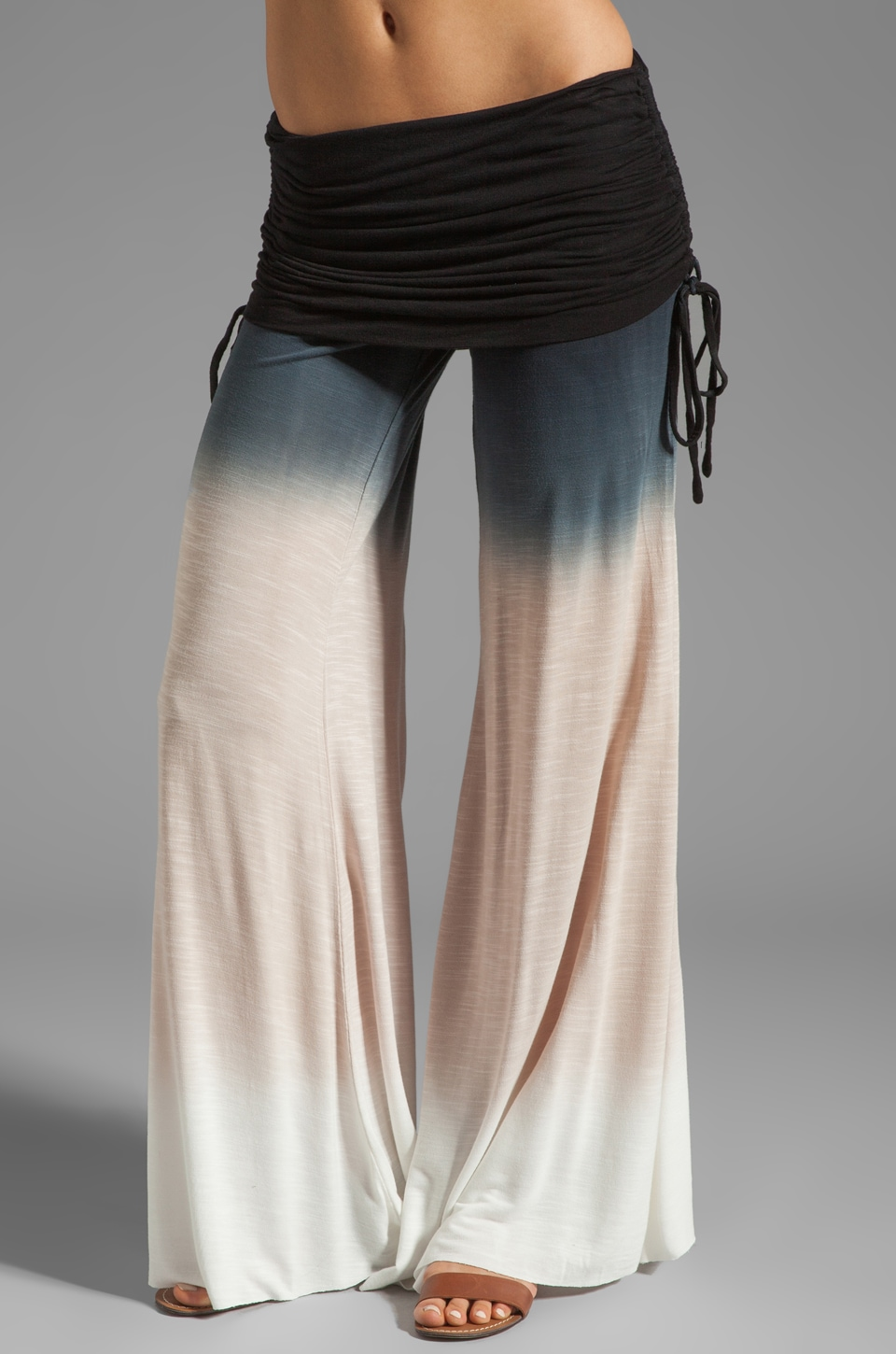 Young, Fabulous & Broke Sierra Pant in Black Sunset Ombre