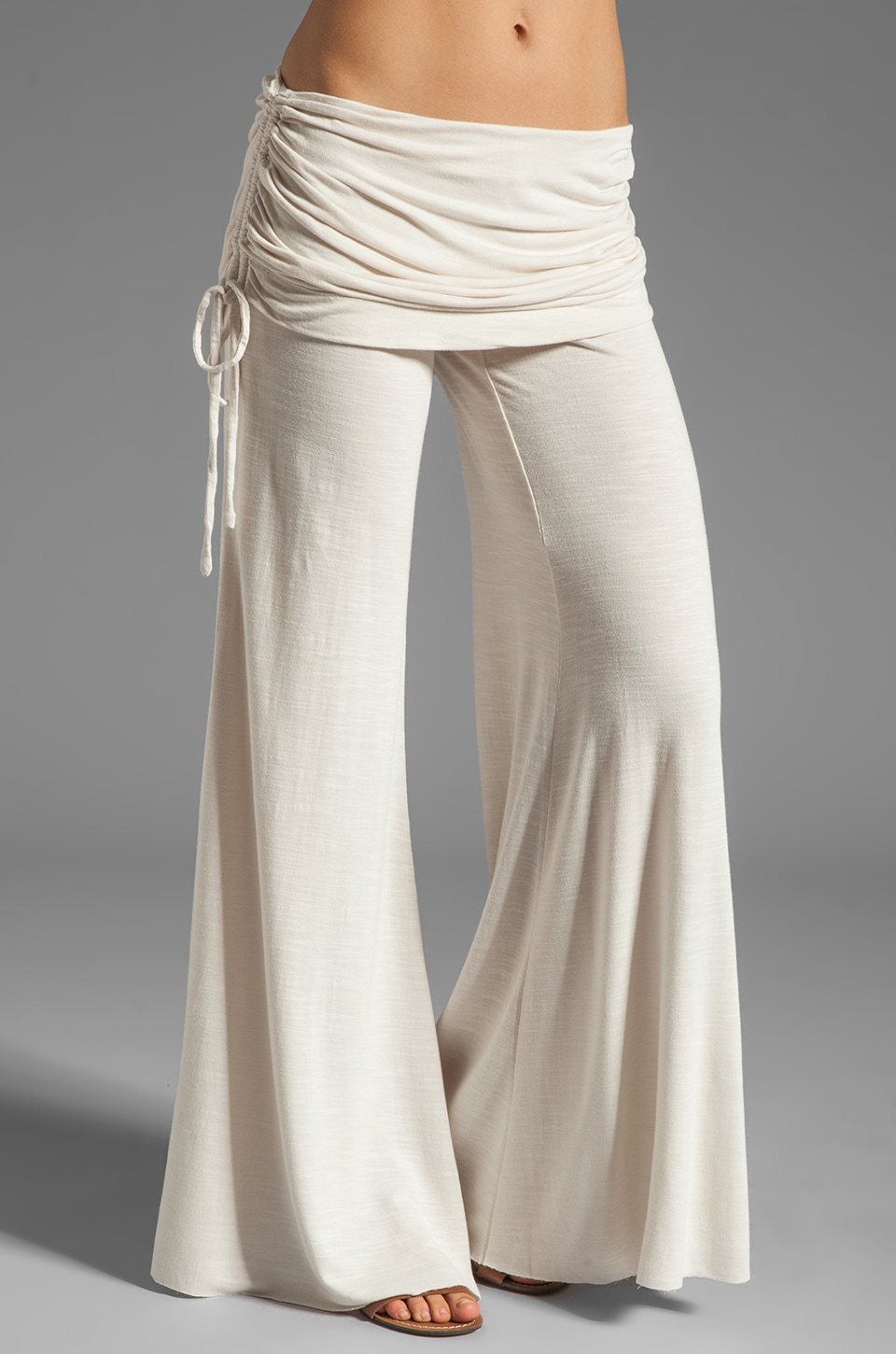 Young, Fabulous & Broke Sierra Pant in Creme