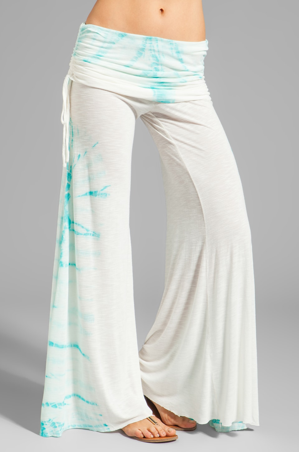 Young, Fabulous & Broke Sierra Carnivale Wash Pant in Crystal