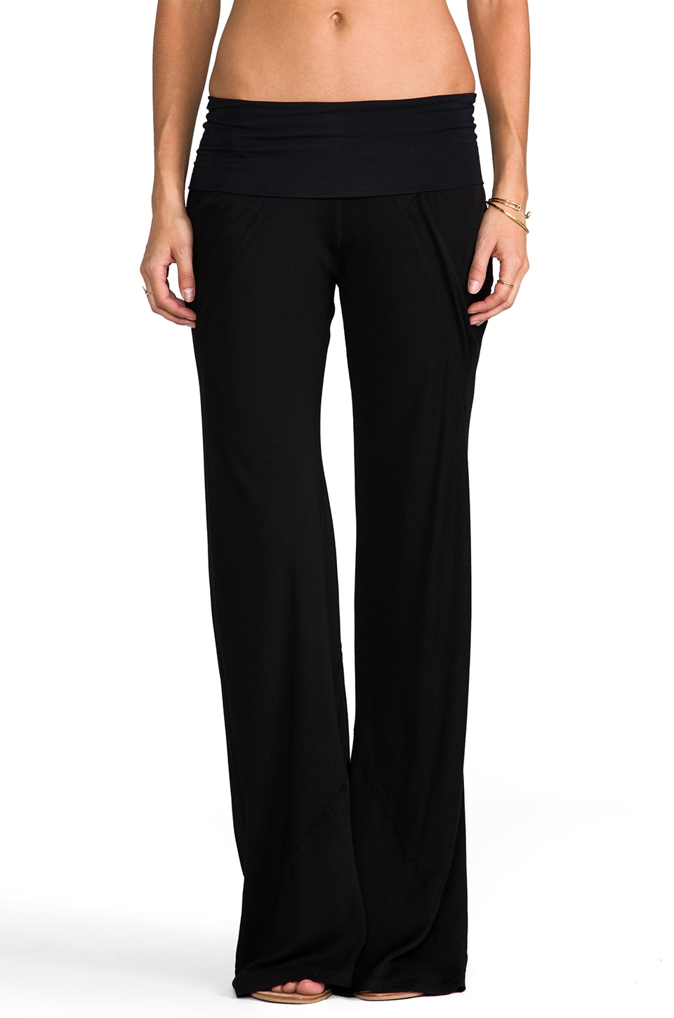 Young, Fabulous & Broke Nelly Pant in Black