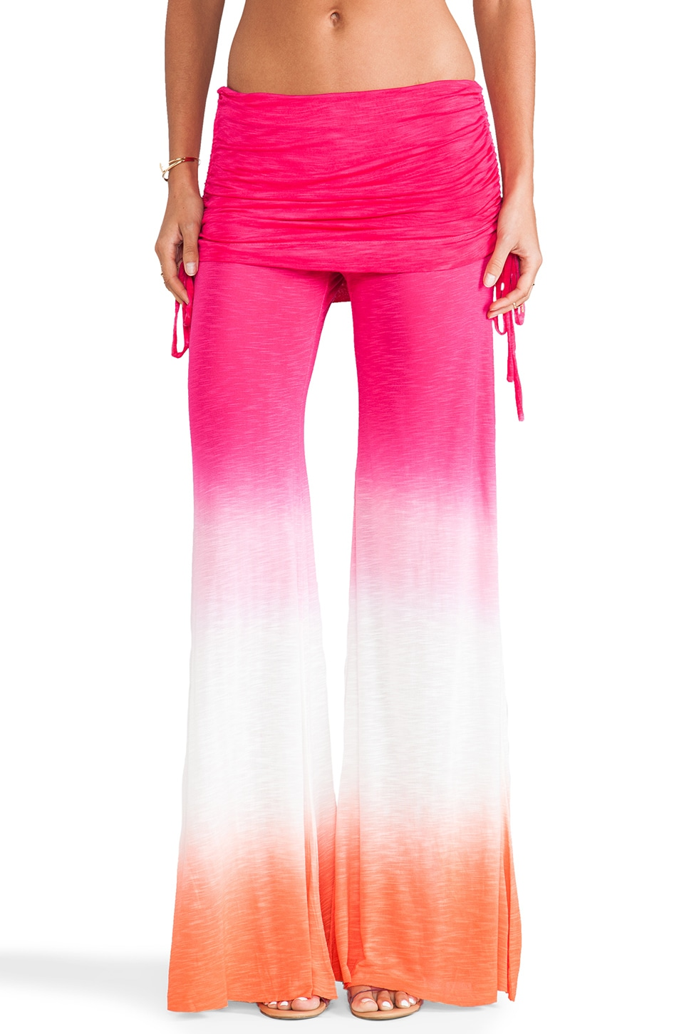 Young, Fabulous & Broke Sierra Pant in Fuschia Ombre