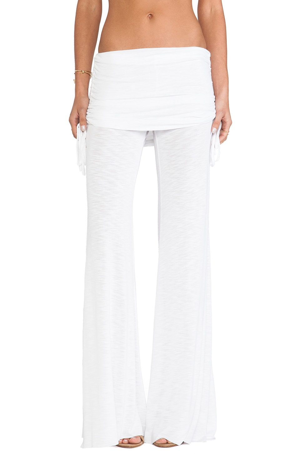 Young, Fabulous & Broke Sierra Pant in White