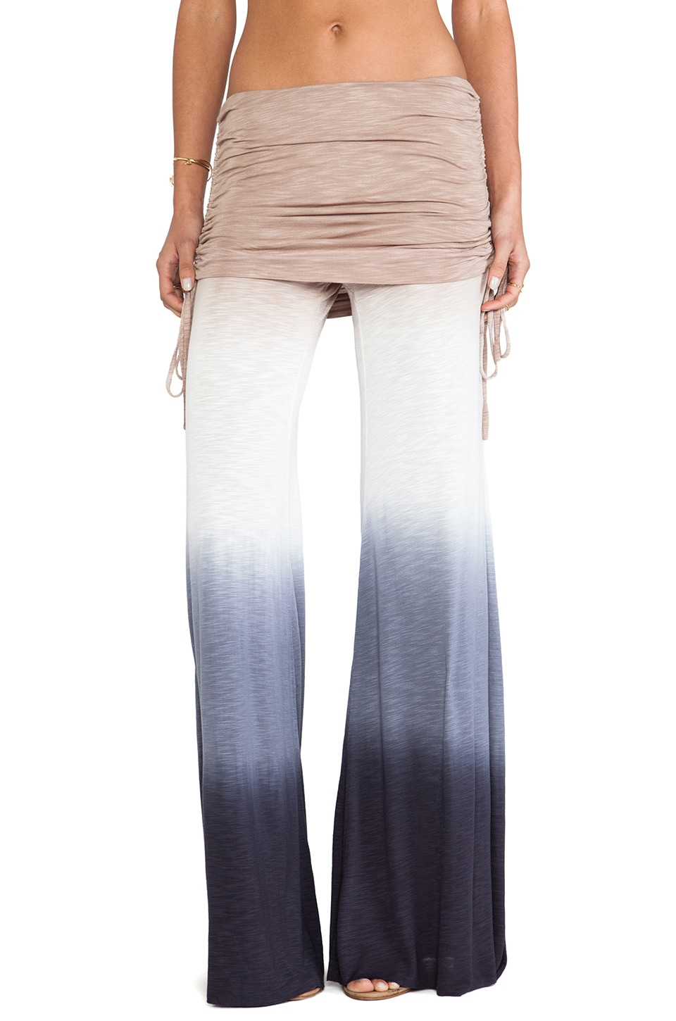 Young, Fabulous & Broke Sierra Pant in Black Ombre