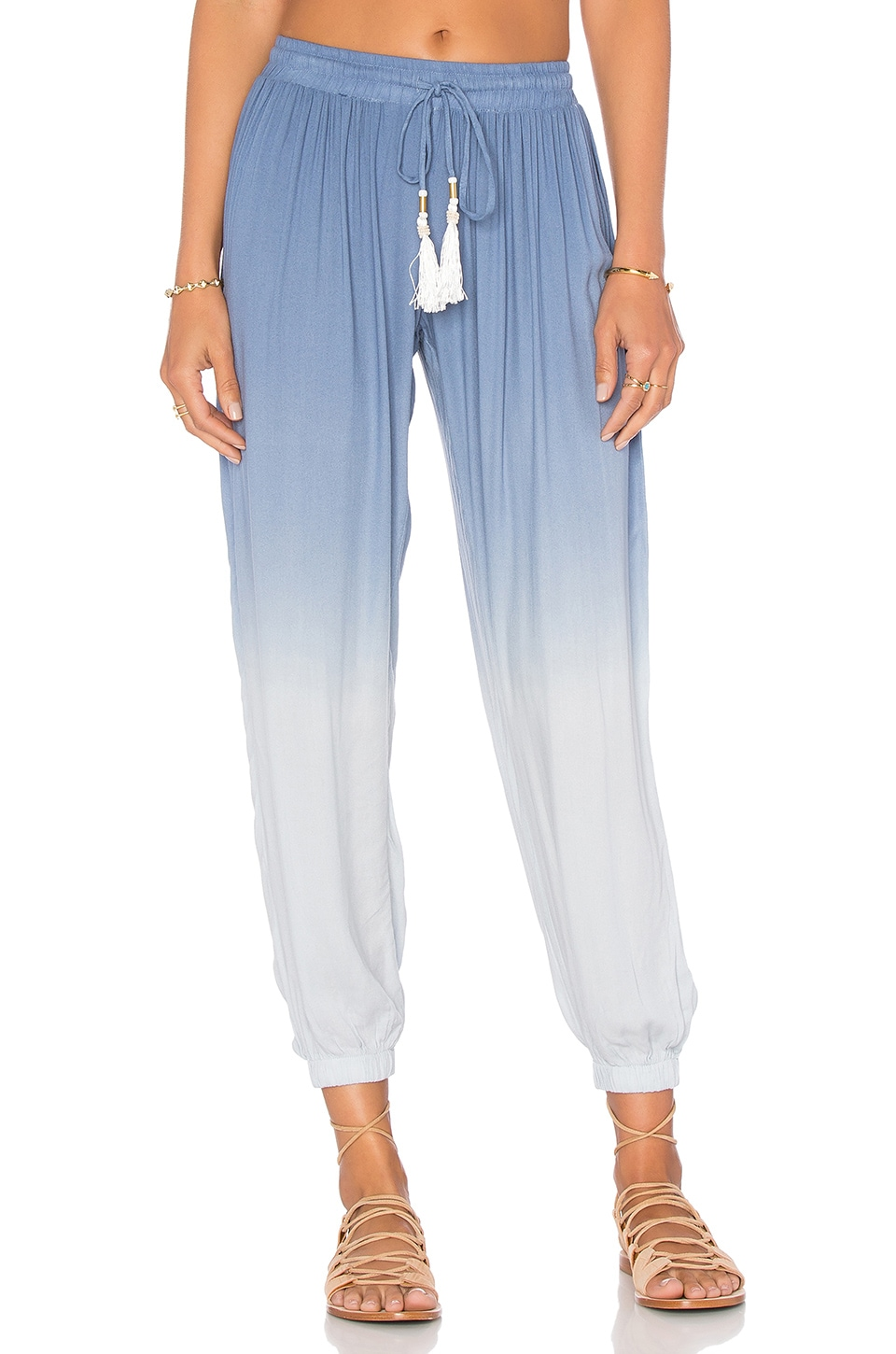 Young, Fabulous & Broke Selena Pant in Chambray Ombre