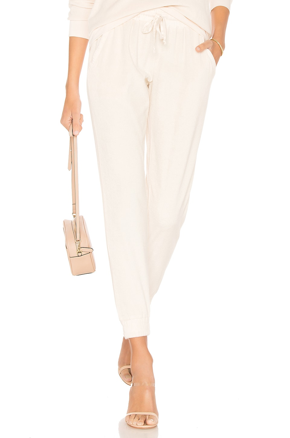 Young, Fabulous & Broke Ollie Pant in Solid Cream