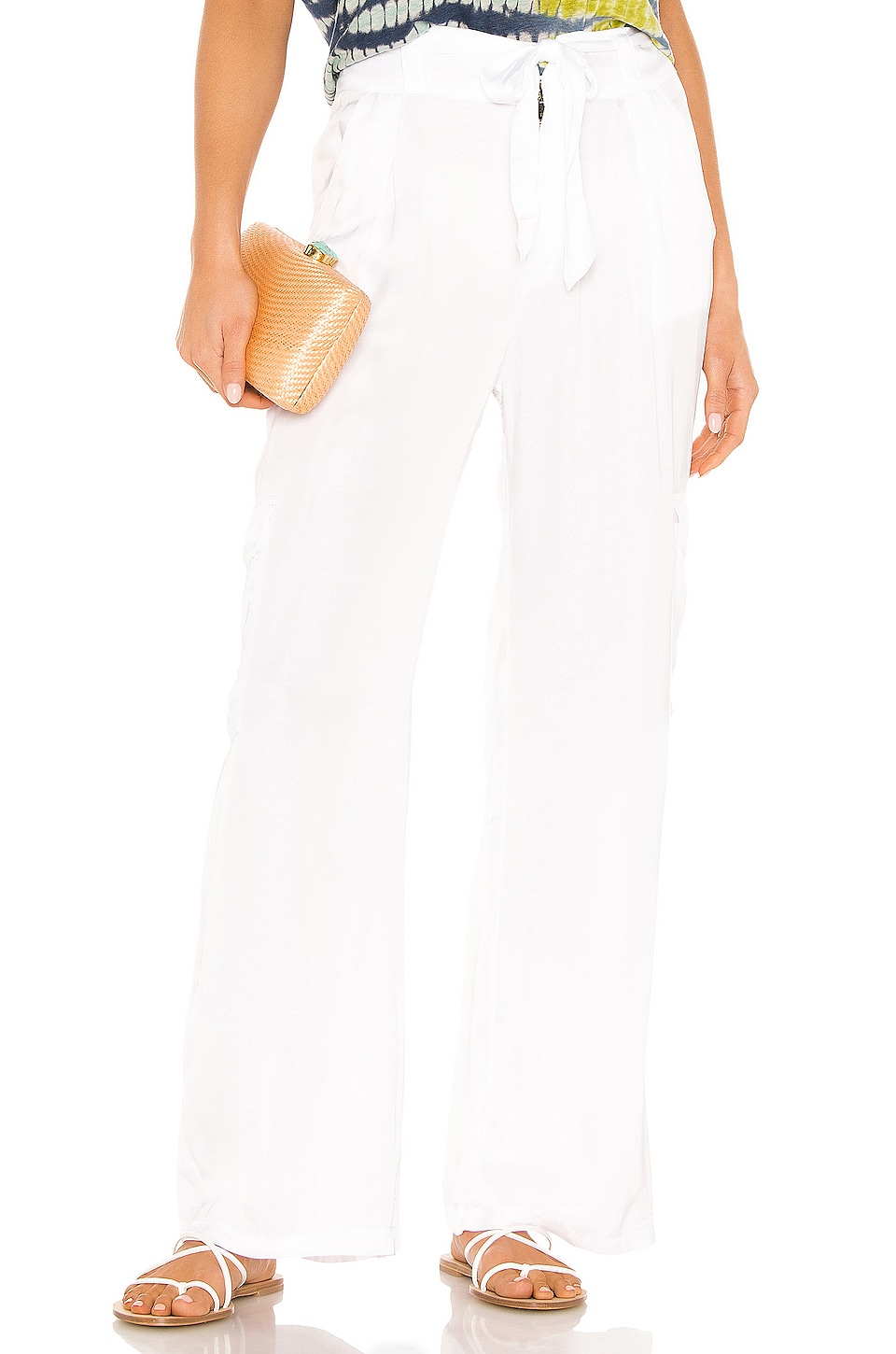 Young, Fabulous & Broke Winslow Pant in White