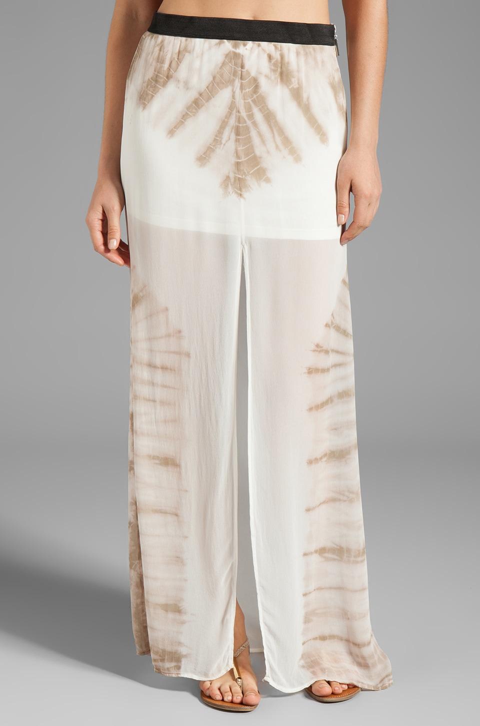 Young, Fabulous & Broke Oprah Carnivale Wash Skirt in Sand