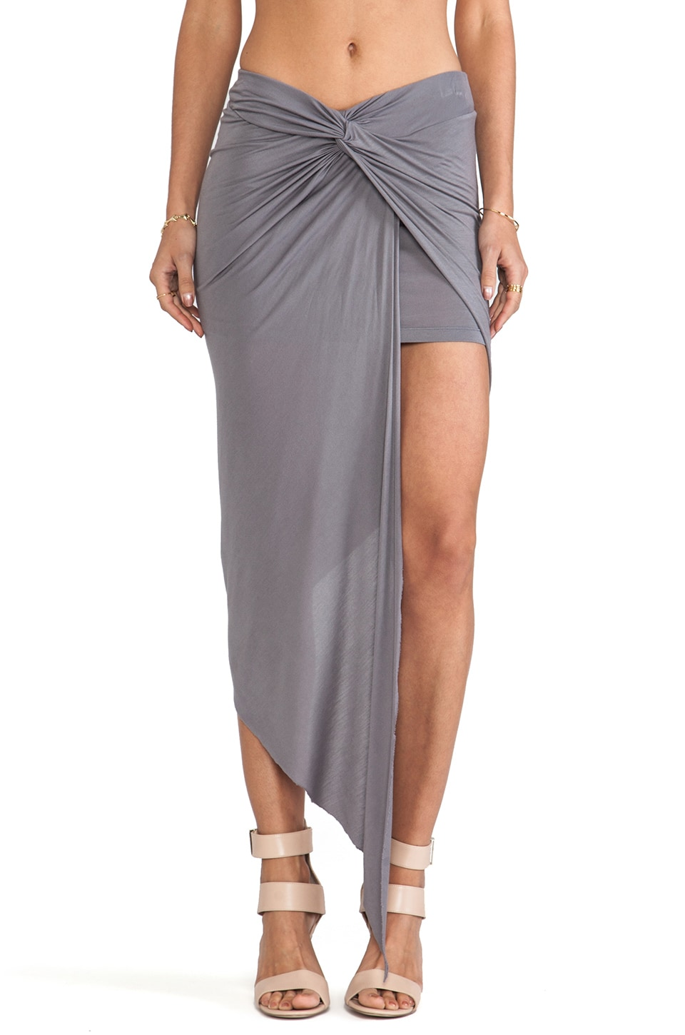 Young, Fabulous & Broke Kulani Skirt in Grey
