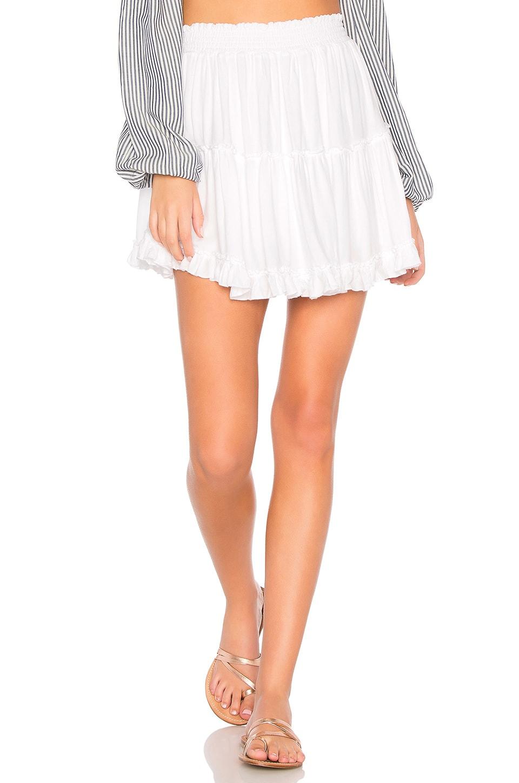 Young, Fabulous & Broke Tahiti Skirt in White