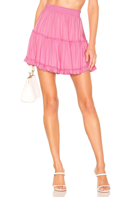 Young, Fabulous & Broke Tahiti Skirt in Hot Pink