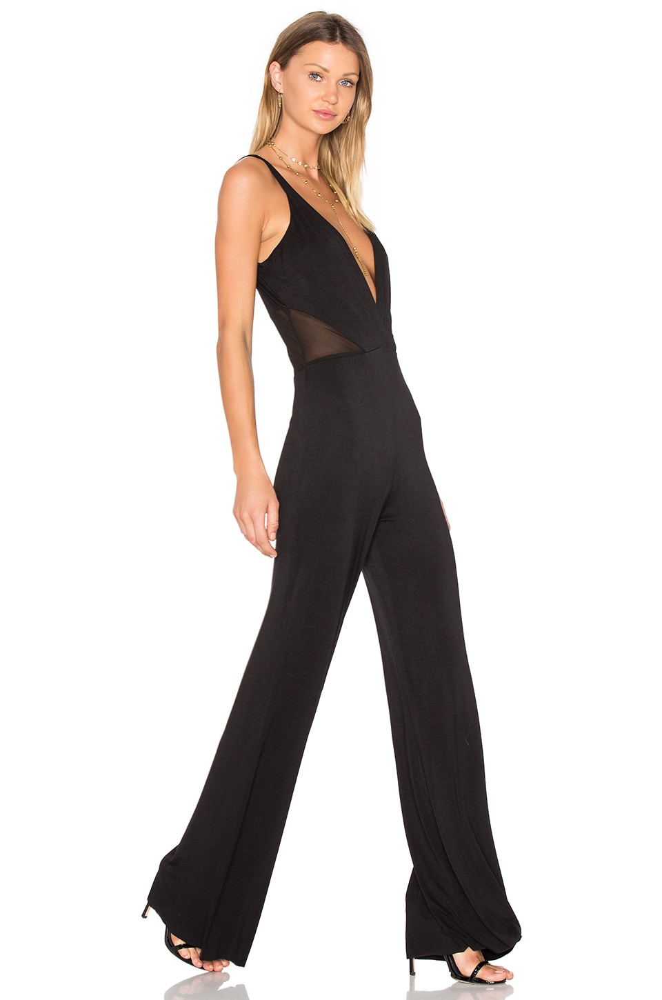 Young, Fabulous & Broke Milla Jumpsuit in Black