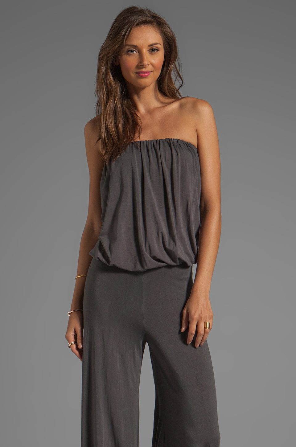 Young, Fabulous & Broke Sydney Jumpsuit in Grey