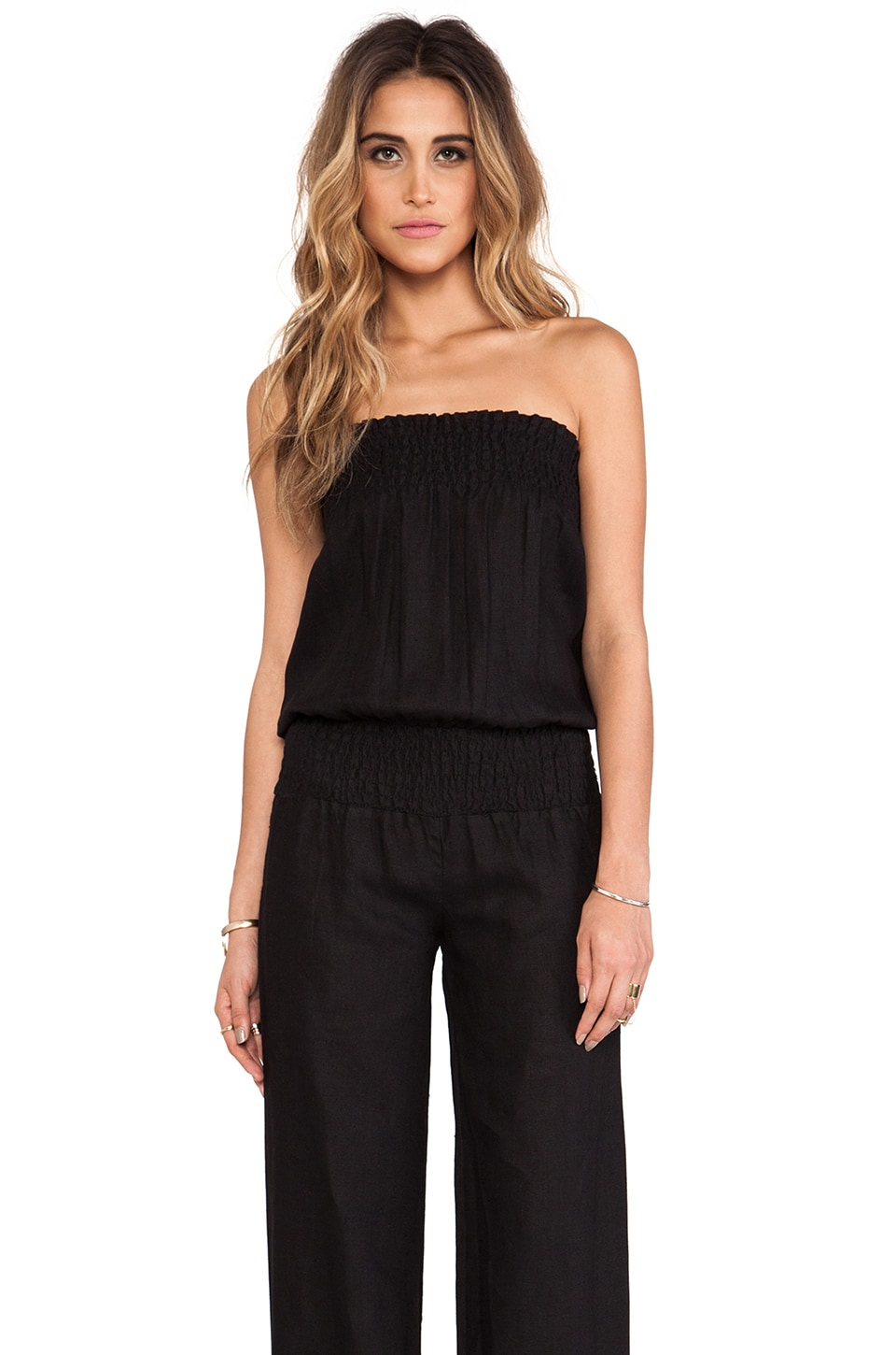 Young, Fabulous & Broke Jill Jumpsuit in Black