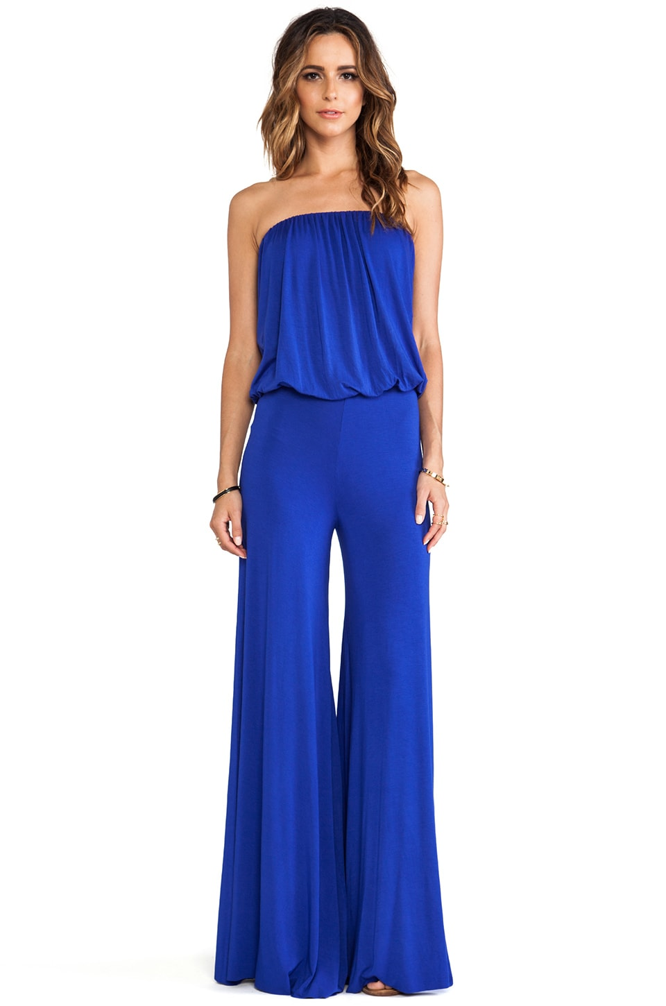 Young, Fabulous & Broke Sydney Jumpsuit in Blue