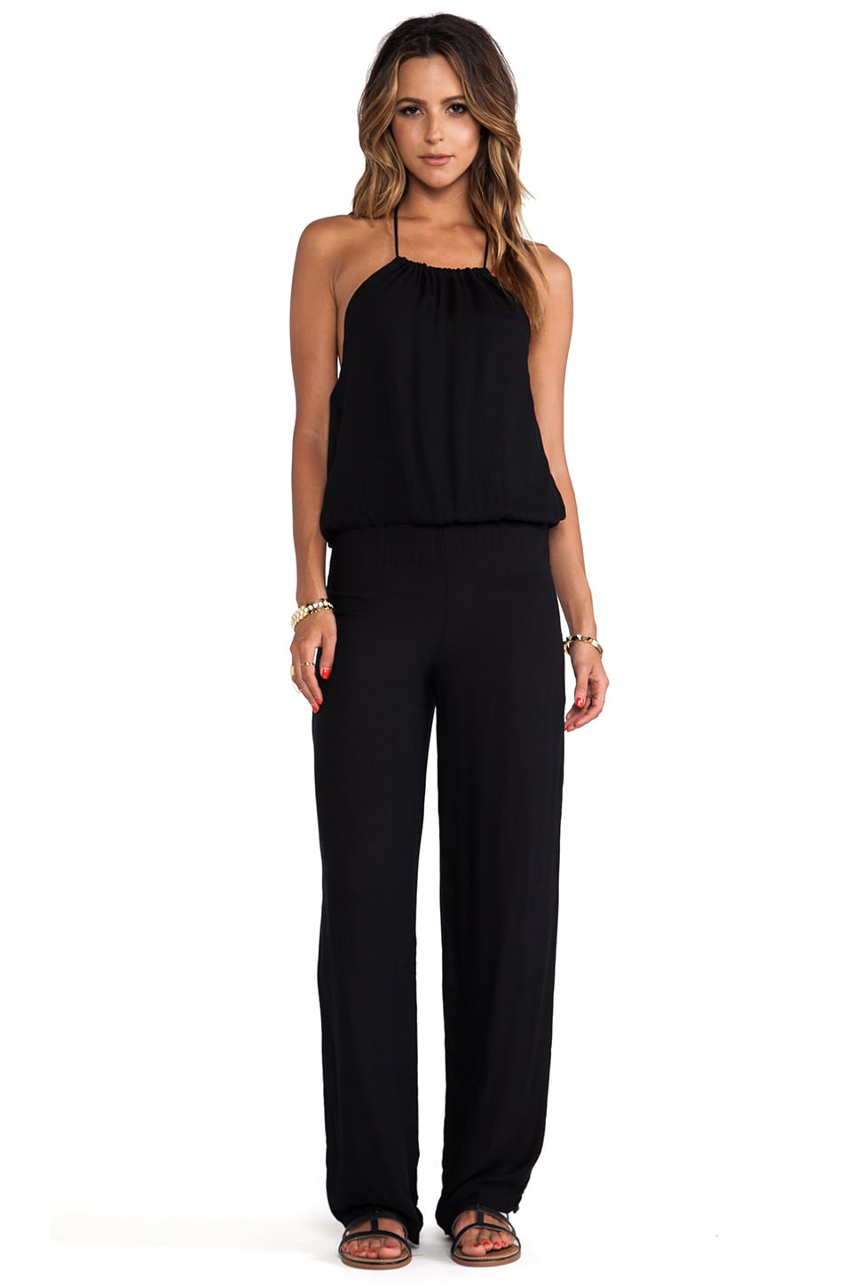 Young, Fabulous & Broke Drea Jumpsuit in Black