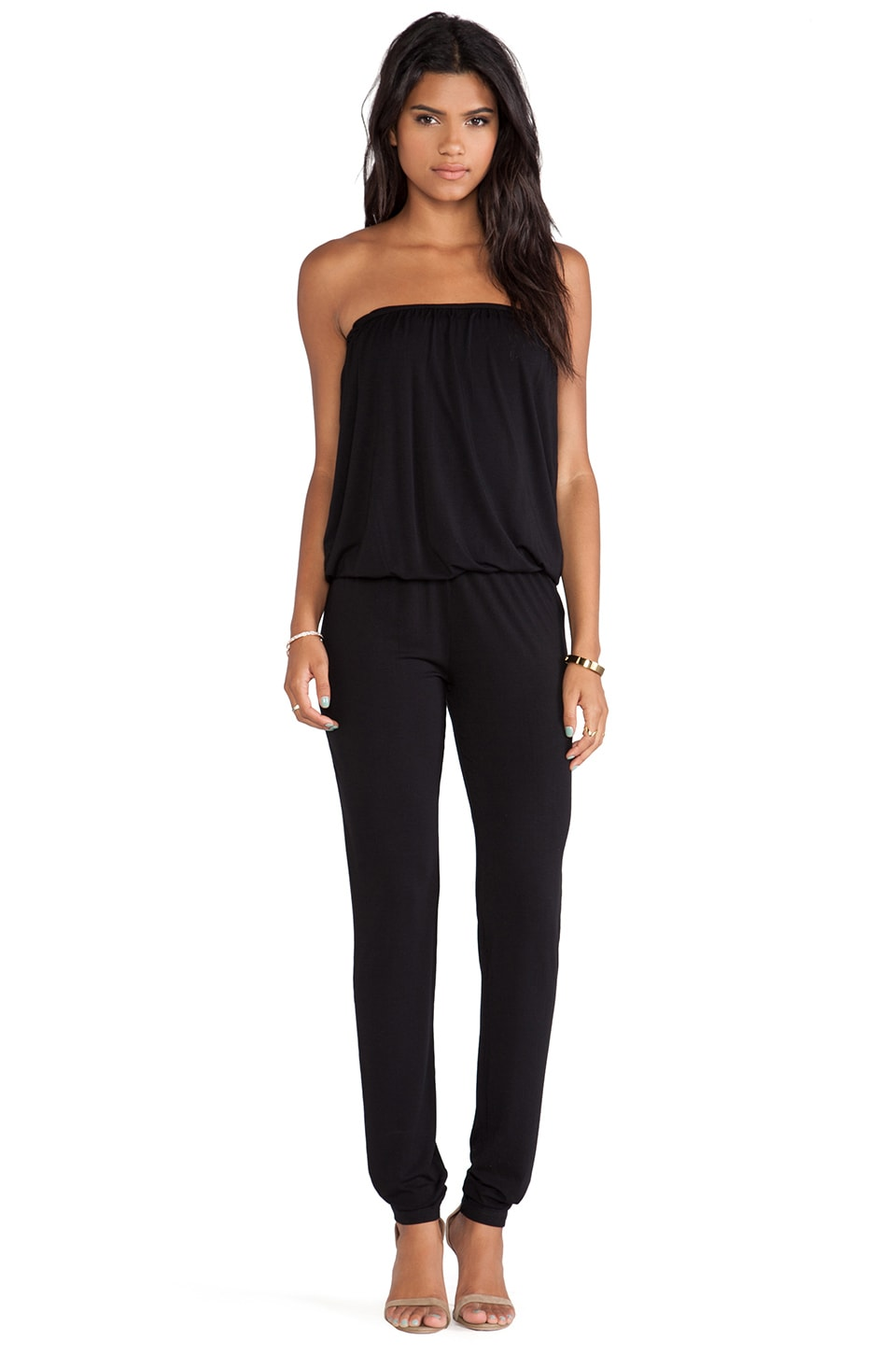 Young, Fabulous & Broke Dakota Jumpsuit in Black