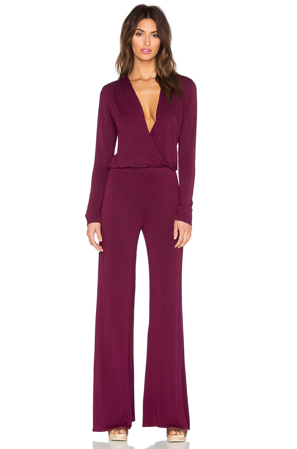 Young, Fabulous & Broke Howell Jumpsuit in Brick