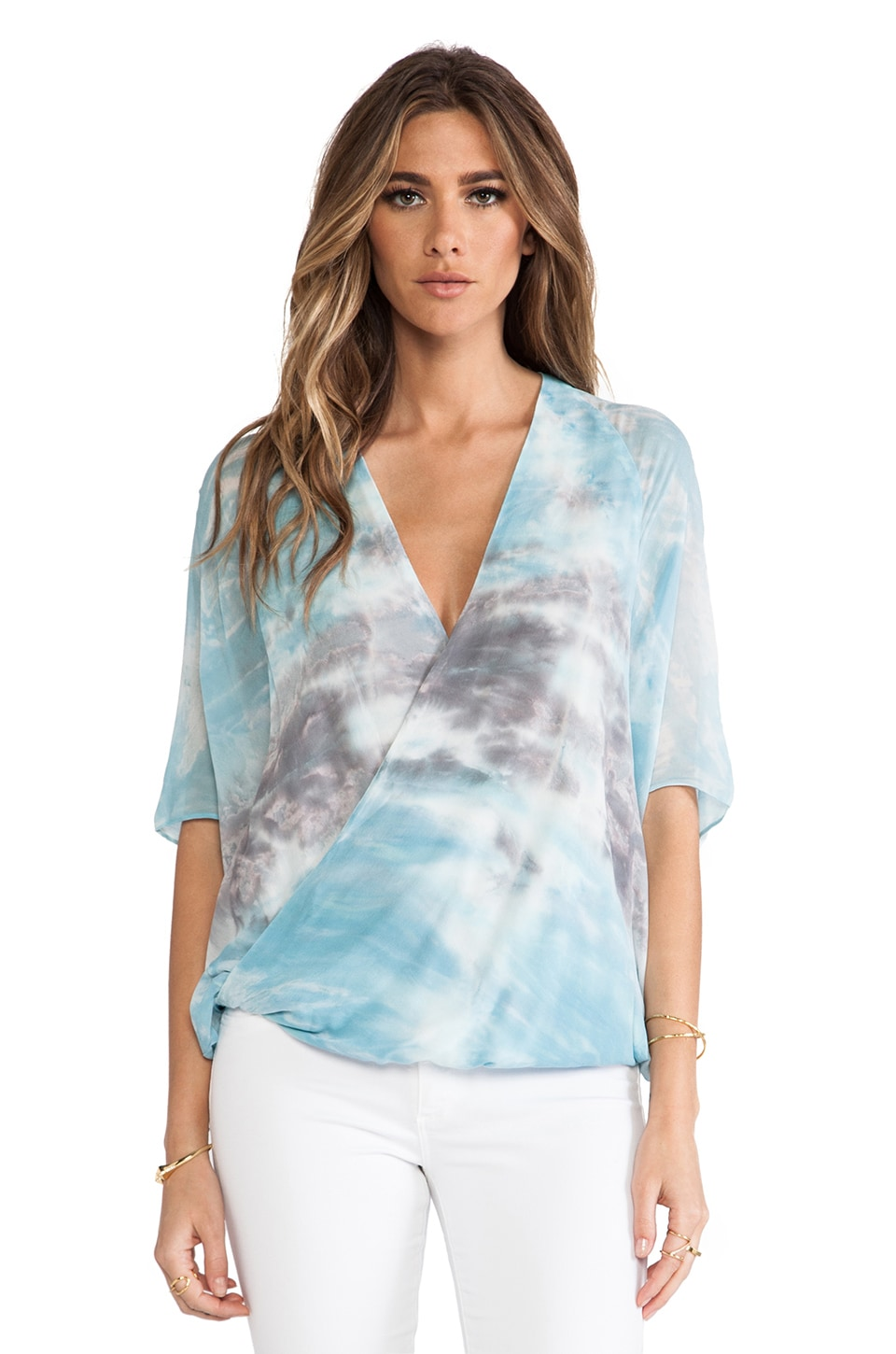 Young, Fabulous & Broke The H Top in Ice Sumatra Wash