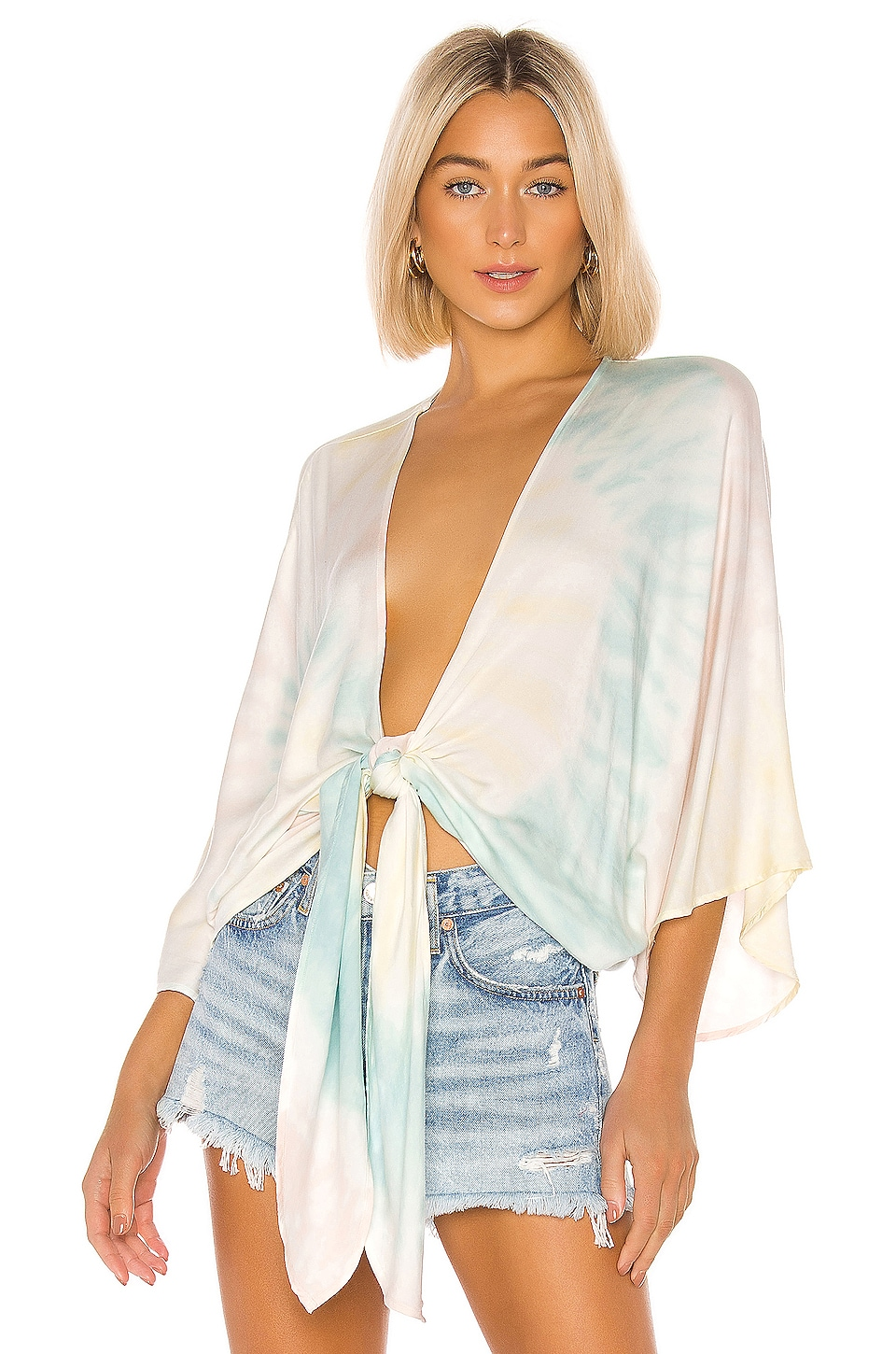 Young, Fabulous & Broke Ohana Cover Up in Crystal Spiral Wash