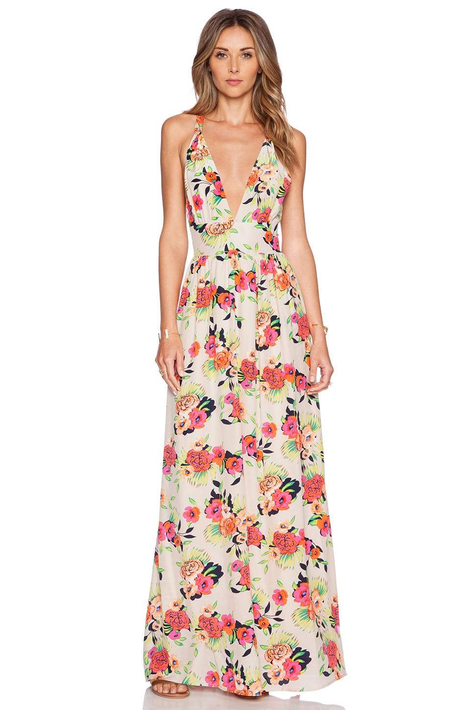 Torchlight floral maxi dress