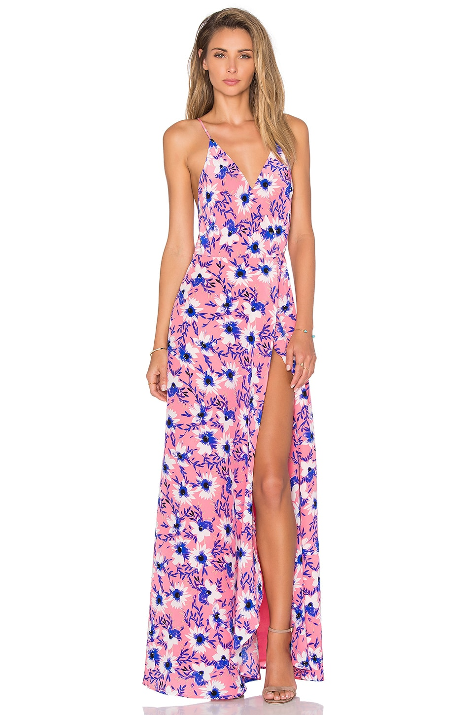 Yumi Kim Rush Hour Maxi Dress in Sway Away Bouquet