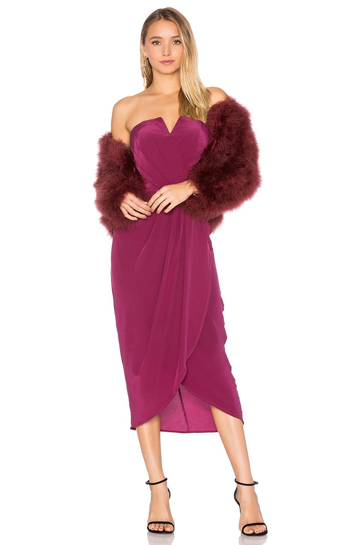 Glamour Night Midi Dress by Yumi Kim