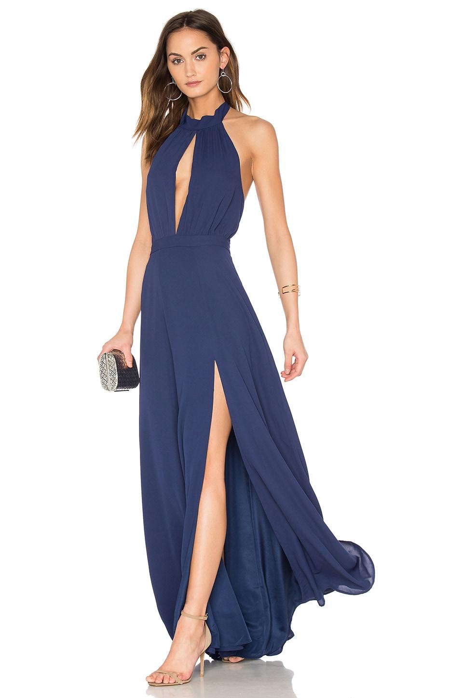 Yumi Kim Starlet Maxi Dress in Navy