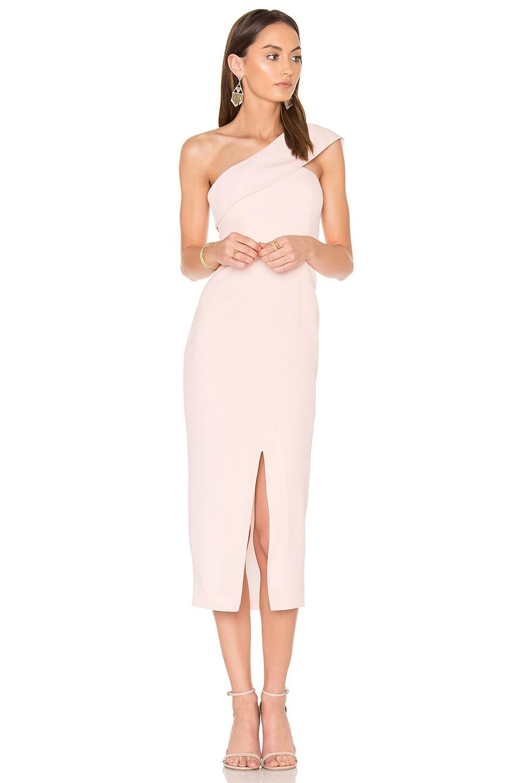 Yumi Kim Blush That Jazz Midi Dress