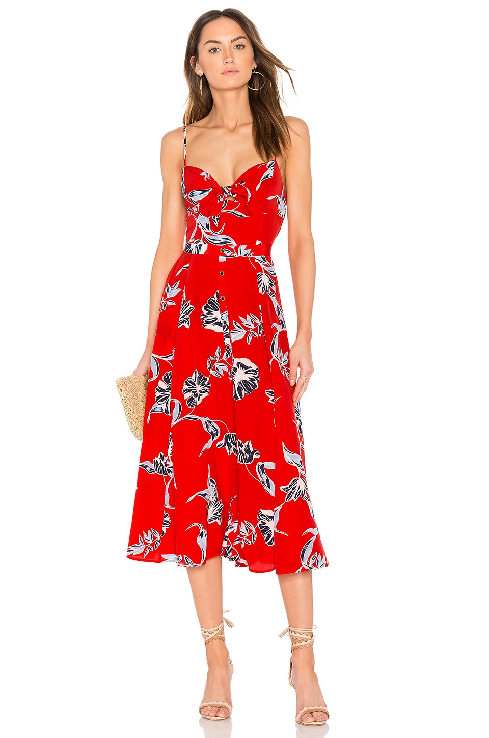 Yumi Kim Pretty Woman Dress in Hello Beautiful Red | REVOLVE