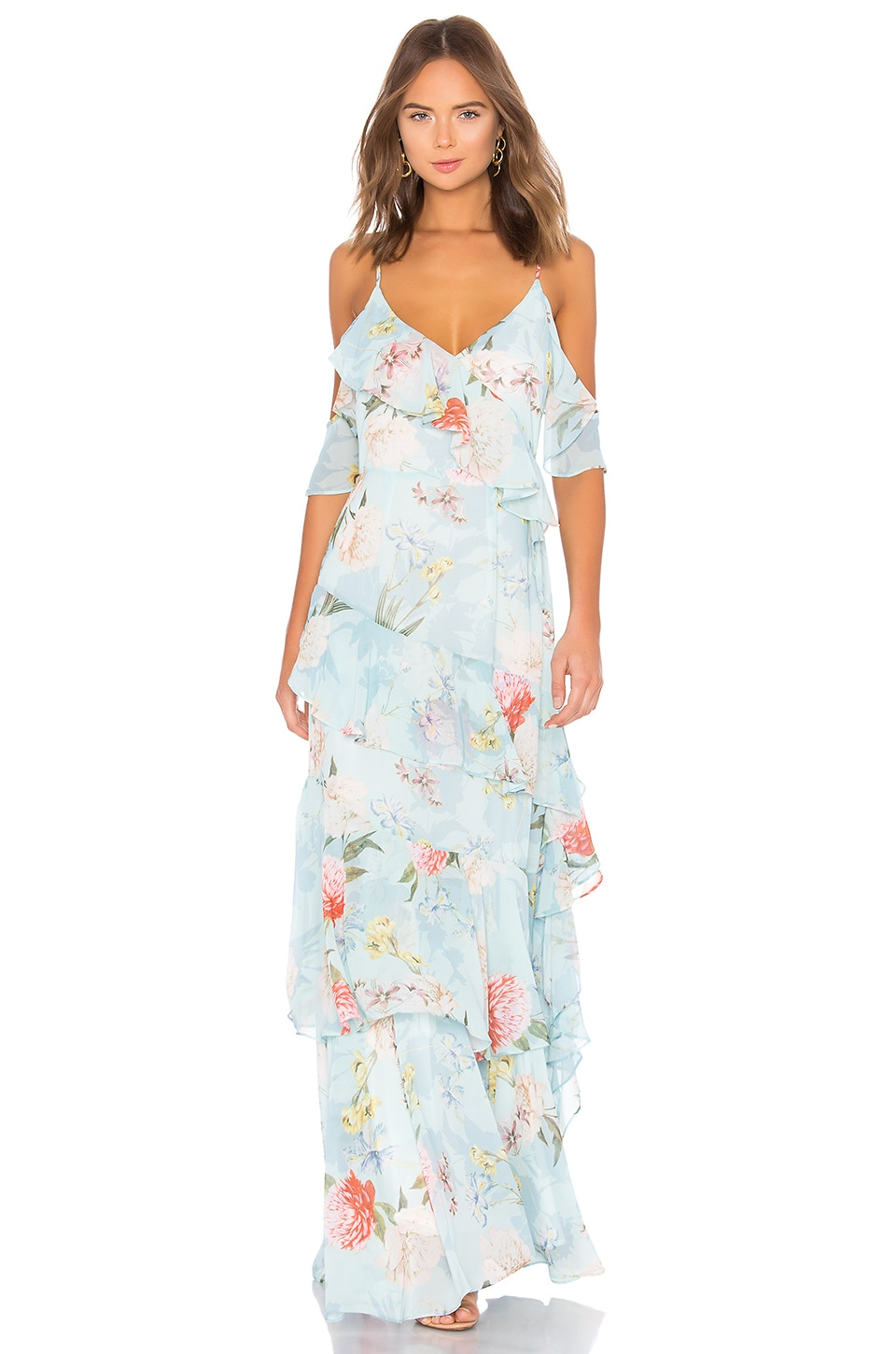 Yumi Kim Hearts Desire Maxi Dress in Forever Yours Jade