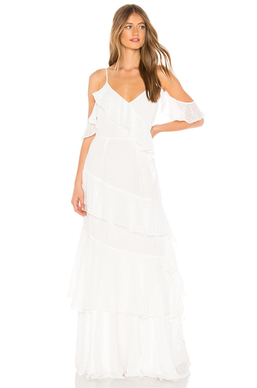 Yumi Kim Hearts Desire Dress in White Dot