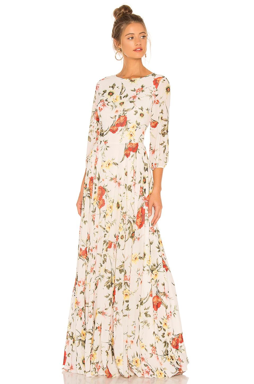 Yumi Kim Woodstock Maxi Dress in Brookhaven Ivory
