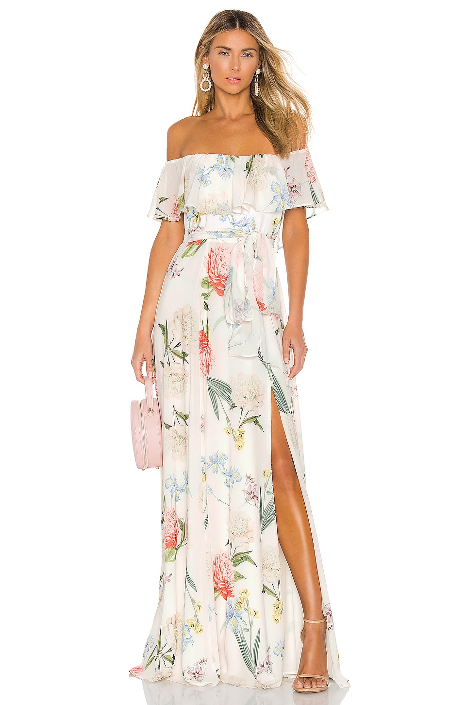 Yumi Kim Carmen Maxi in Forever Yours Ivory