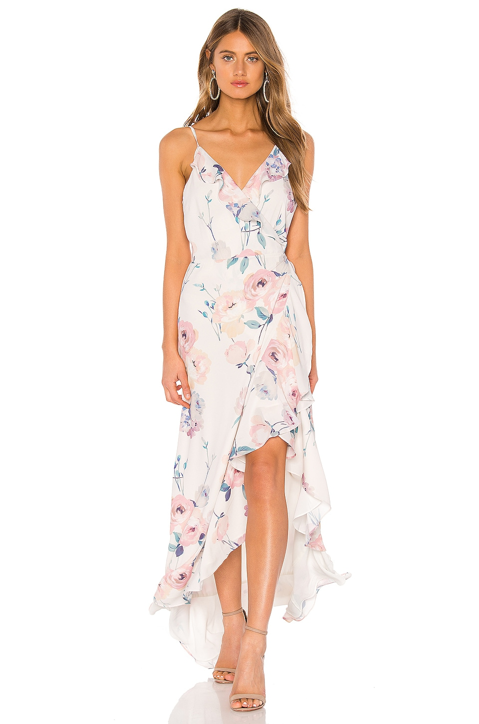 Yumi Kim Meadow Maxi in Dutch Roses Ivory