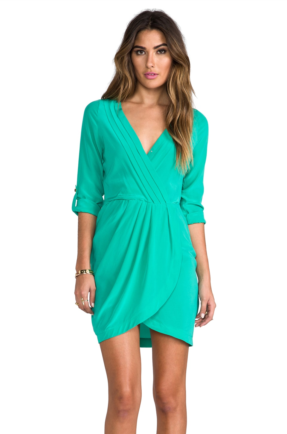 Yumi Kim Alexis Dress in Jade