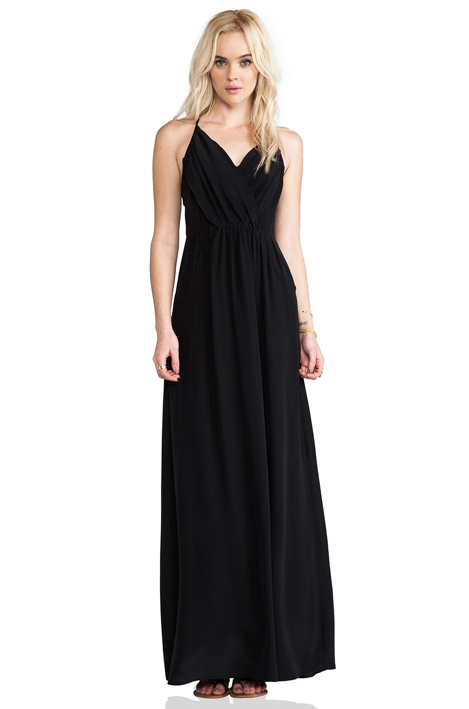 Yumi Kim Daydreamer Maxi Dress in Black