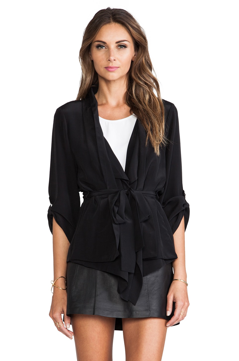 Yumi Kim Claudia Jacket in Black